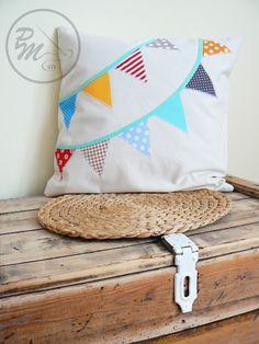 Bunting pillow