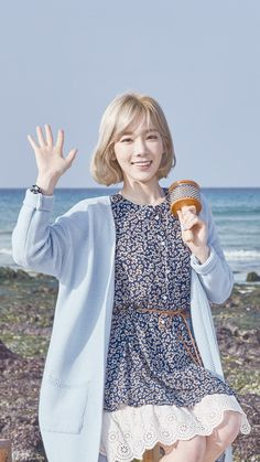 Aside from the music videos which were released earlier this month, here are more of SNSD's TaeYeon for Jeju Samdasoo ! Browse her ado...
