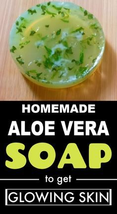 Prepare aloe vera soap at home to get spotless, glowing skin complexion – Dry Skin Care – beauty skin care Fresh Aloe Vera, Aloe Vera For Hair, Aloe Vera Uses, Best Nutrition Food, Health And Nutrition, Nutrition Chart, Aloe Vera Skin Care, Homemade Soap Recipes, Perfume