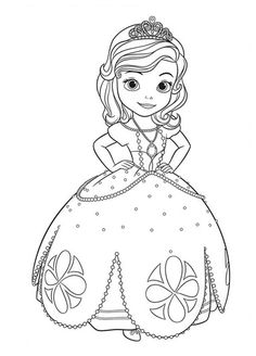 sofia the first disney coloring pages free online printable coloring pages, sheets for kids. Get the latest free sofia the first disney coloring pages images, favorite coloring pages to print online by ONLY COLORING PAGES. Cartoon Coloring Pages, Coloring Pages To Print, Free Printable Coloring Pages, Coloring Book Pages, Coloring Pages For Kids, Kids Coloring, Frozen Coloring Sheets, Alphabet Coloring, Disney Princess Coloring Pages