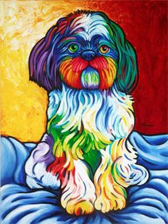 The Artwork of Steven Schuman - would love for him to do a portrait of both Oliver and Lolly.