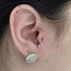 how to wear tragus piercing earrings inspiration idea Jewelry Nickel Free Loop Star Segment Nose Lip Clicker Ring Ear Studs For Women Girls Men Anti Tragus Conch Nose Snug Rook Daith Lobe Auricle 3 Tragus Piercings, Tragus Piercing Jewelry, Tragus Earrings, Clip On Earrings, Body Piercing, Daith, Vintage Tattoos, Ear Jewelry, Ear Piercings