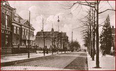 de Wierdensestraat rond 1900  Een stukje Wierdensestraat voor villa Kloosteresch die nog dienst heeft gedaan als politiebureau. (het pand links dat wat naar achteren staat.)