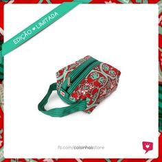 Necessaire Box Floral Vermelha Limited Edition R$30.00