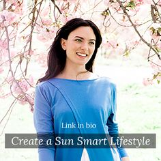 On our bog: A healthy lifestyle means a sun-safe lifestyle, too! Sol Sisters, read about easy ways to craft your sun-smart lifestyle on our blog! ☀ #sunsmart #UPFclothing #sunsafe #summer