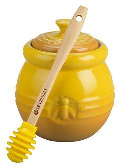 Le Creuset Honey Pot with Silicone Honey Dipper & Reviews | Wayfair