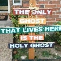 Image result for Christian Halloween Decorations