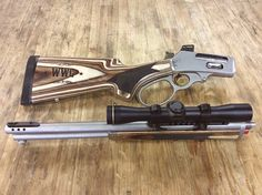 The World Famous CoPilot Take-Down rifle Chambered in This is not your granddad& lever gun! Weapons Guns, Guns And Ammo, Homemade Shotgun, Armas Wallpaper, Survival Rifle, Survival Tools, Lever Action Rifles, Custom Guns, Fire Powers