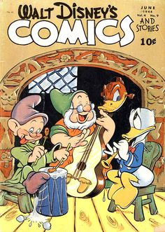 Pencil Ink: a blog featuring golden, silver and bronze age comic book art and artists: Walt Disney's Comics and Stories #45 - Carl Barks art