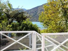 Mahakipawa Waterfront Hideaway (Bachcare) - Havelock Bach for rent Marlborough Sounds, Two Bedroom, Kayaking, Places To Go, Relax, Home Decor, Kayaks, Decoration Home, Room Decor
