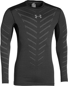 3072212b Special Offers - Cheap Under Armour Coldgear Infrared Armour Compression  Crew Running Top Small Black -