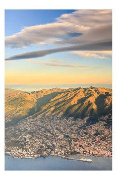 Luchtfoto Funchal