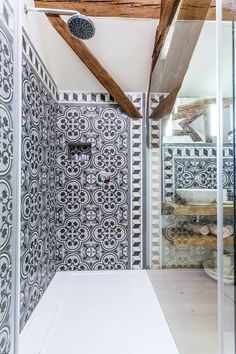 MOZA Cementtiles Manufactory Hungary @Káli Art Inn Hungary, Cement, Bathtub, Bathroom, Art, Standing Bath, Washroom, Art Background, Bathtubs