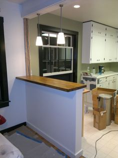 This seams basic but I had trouble finding much info on building sturdy half walls. Everything I found involved mounting them to cabinets or...