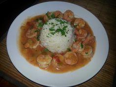 Creole shrimp etouffee