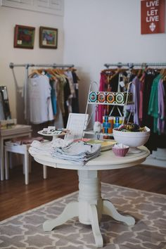 Hattie Collins Moll of Hattie Sparks Boutique in New Orleans // NOLA // boutique // fashion // career // Lulu & Georgia Stargazer Rug // photography by Maile Lani