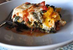 Pumpkin & Kale Lasagna, www.mountainmamacooks.com