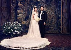 Adelshochzeit: Das offizielle Hochzeitsfoto von Prinzessin Madeleine und Chris O'Neill