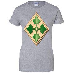4TH INFANTRY DIVISION NO TXT G200L Gildan Ladies' 100% Cotton T-Shirt