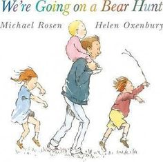 Come along on a bear hunt in this award-winning classic from Michael Rosen and Helen Oxenbury. We're going on a bear hunt. We're going to catch a big one. Best Toddler Books, Best Children Books, Childrens Books, Children Stories, Young Children, Best Books Of All Time, Great Books, My Books, Michael Rosen