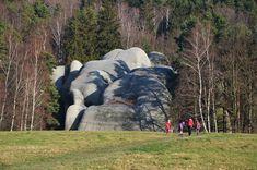 Sloní kameny. Jitrava.