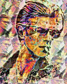 """""""Look up here I'm in heaven."""" Just finished this Bowie tribute piece a la Warhol unfortunately it was too large for Instagram so I had to crop it but all in all I'm loving how it came out for my first try.  #davidbowie #starman #theriseandfallofziggystardustandthespidersfrommars #popart #rollingstone #tribute #artlife #art #artprint #instagallery #instagram #love #cool #starkematter #montreal #farewell #goodnightsweetprince #graphicart #instagood #music #awesomeness #colorful"""