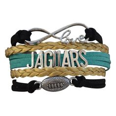 Jacksonville Jaguars Bracelet - Jacksonville Jaguars Jewelry & Perfect Football Fan Gift