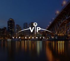 VIP Events Logo Design