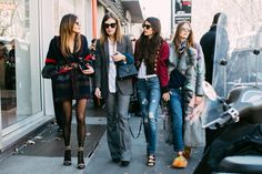 Fashion squad | Milan Fashion Week Fall/Winter 2017-2018 #MFW #squadgoals #StreetStyle