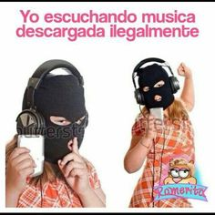 Cada vez que descargas música ilegalmente muere un perrito