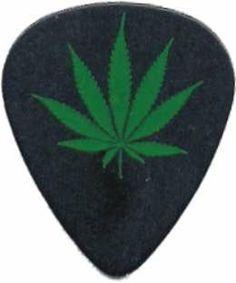 Pot Leaf Logo Guitar Pick 99 Volts. $3.91