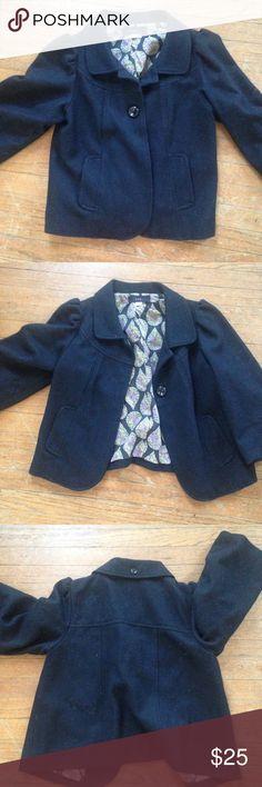 Short pea coat Barely worn. Like new. 3/4 selves. Urban Outfitters Jackets & Coats Pea Coats