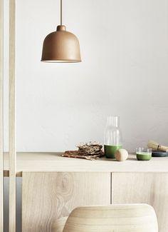 Muuto Grain hanglamp LED • Naturel • de Bijenkorf Led, Grains, Ceiling Lights, Lighting, Home Decor, Tips, Kitchen, Decoration Home, Cooking
