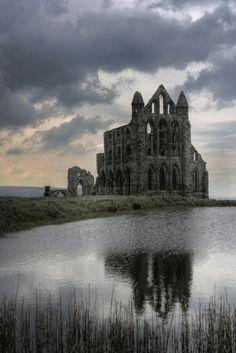 wormwoodqueen:  Abandoned monastery, Whitby, Yorkshire, UK