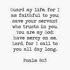 Mercy Quotes, Prayer Quotes, Jesus Quotes, Bible Quotes, Psalm 86, Study Methods, Prayer Room, Favorite Bible Verses, God Is Good