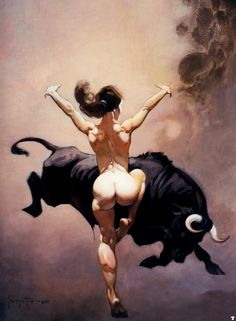Frank Frazetta - The Dancer