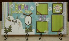 Monique Griffith Designs: NEW Kits - Snow Much Fun & Happy Christmas