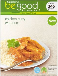 Sainsbury's Be Good to Yourself Chicken Curry (380g)