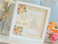 Design by Suzi: Klaudia a Juraj Wedding Pictures, Scrapbooking, Frame, Cards, Design, Home Decor, Picture Frame, Decoration Home, Room Decor