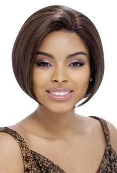 100% Human Hair Full Lace Cheri wig by Janet Collection-2(dark brown) by Janet Collection. $80.50. Medium bob, straight hair, no bangs. Full Lace wig: lace on front (from ear to ear) and on rear; machine weft in middle. Janet Collection 100% Human Hair Full Lace Cheri wig. 100% Human Hair. * Returns and Exchanges Policy Your satisfaction is important to us! 100% Exchange/Returns on purchases made within two weeks. The following must be met: If you are not completely...