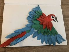 S's Parrot Painting