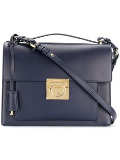 fa53c2b3ad6 Salvatore Ferragamo Aileen Shoulder Bag - Farfetch