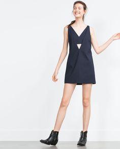 Image 1 of PINAFORE DRESS from Zara