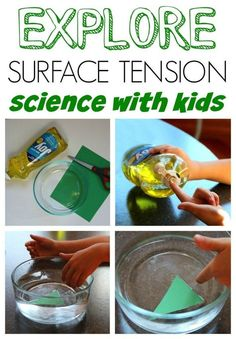 Super fun science activity for kids. Learn about Surface Tension with this science experiment!