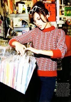 I don't usually love Alexa Chung, but this is adorable