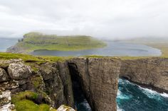 Sorvagsvatn is the biggest lake of the Faroe Islands. It covers an area of 3.4 square km and the lake is only 30m above the sea level.