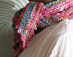 Ravelry: Odds and Ends Kerchief pattern by Giddy Davies