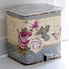 prettied-up trash can?