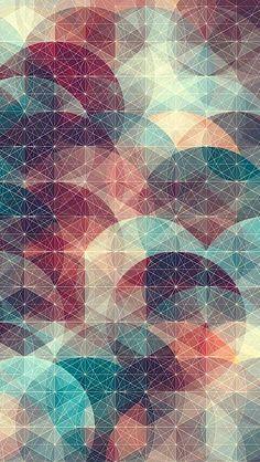 40 Creative Geometric iPhone Wallpapers