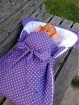 Textil - spací vak a zavinovačka v jednom - 3945680_